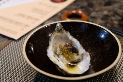 Rakuya At East Coast Road, A Restaurant With No Fixed Menu - Appetiser, Fine de Claire Oyster