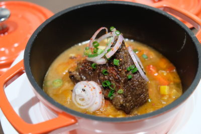 So France Bistro and Epicerie Dishing Hearty Authentic French Food - Cocotte de joue de boeuf confite / Beef cheek stew ($26)