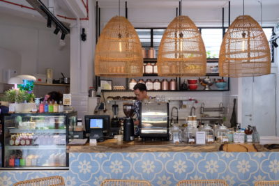 The Social Space, Social-Conscious Cafe With Retail And Nail Parlour At Kreta Ayer - Cafe Counter