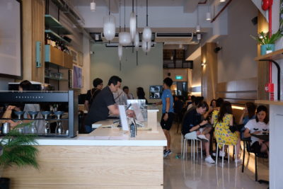 Liberty Coffee At Jalan Besar, For The Coffee Connoisseur - Interior