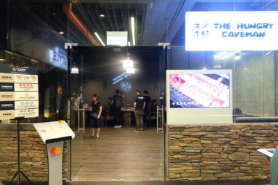 The Hungry Caveman At Orchard Central, Good Review For BBQ In Dianping Shanghai - Facade