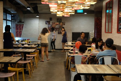 Makanista At Tampines Mall, A Food Court Offering Local Food With A Local Twist - More Dinning Area