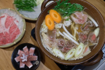 Yuzutei At Pasir Pahang Road Offers Flavourful Yuzu Shabu Shabu And Hot Stone Grill - Cooking meat and vegetable Yuzu Flavoured Broth