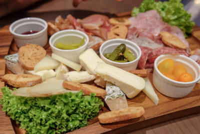 So France Bistro and Epicerie Dishing Hearty Authentic French Food - Assortiment de fromages /Assorted French cheese ($28.50)