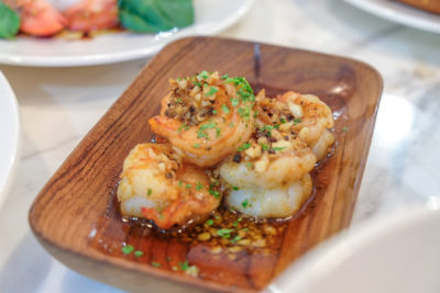The Cheese Artisans At Greenwood Avenue Has More Than Cheeses - Garlic Paprika Prawns ($12 for 5 pcs)