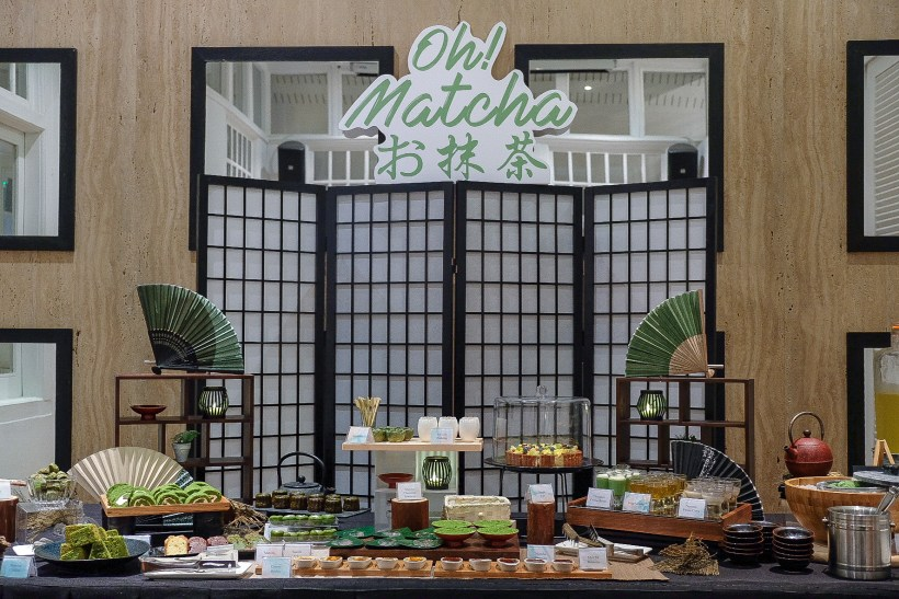Oh Matcha Dessert Buffet At Lewin Terrace, With Executive Set Lunch - Oh Matcha Dessert Buffet