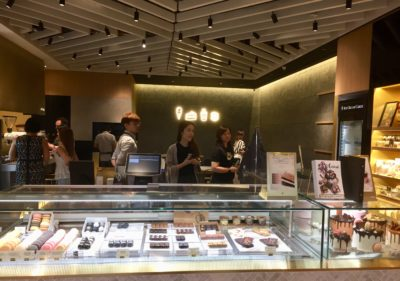 The Dark Gallery @ Takashimaya, A New Cafe And Chocolate Boutique - Interior