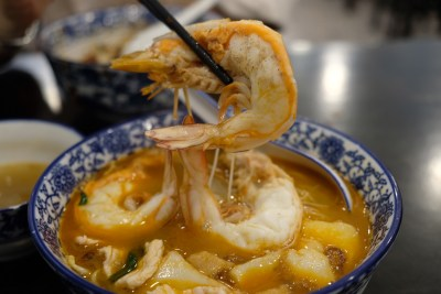 Da Shi Jia Big Prawn Noodle 大食家大大大虾面 At Killiney Road - Big Big Prawn