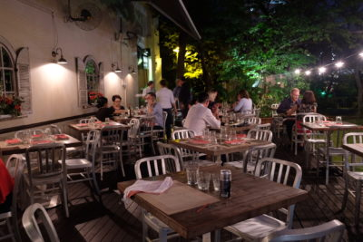 Latteria Mozzarella Bar At Duxton Hill, Outstanding Italian Food - Al Fresco Dinning
