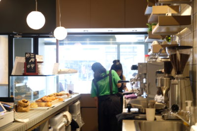Mother Dough Bakery Dishing Halal Artisan Bakes At North Bridge Road - A view behind the counter