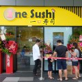 One Sushi Serving Sushi On Conveyor Belt At Yishun Town Square - Facade