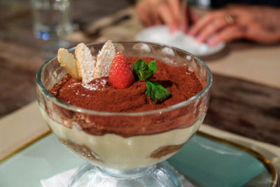 Latteria Mozzarella Bar At Duxton Hill, Outstanding Italian Food - Tipsy Tiramisù Cup ($16)