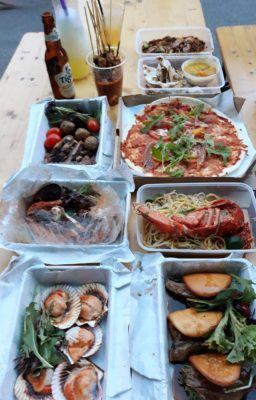 One Faber Group @ Sentosa Grillfest – Food served at Grillfest