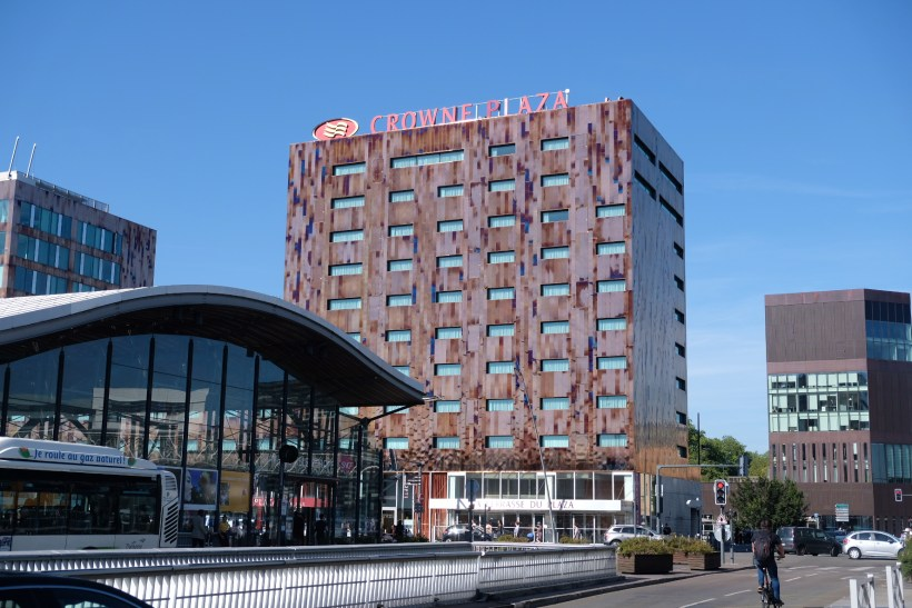 Crowne Plaza Lille - Euralille, A Business Hotel Directly Opposite Euralille Train Station - Crown Plaza Lille Facade