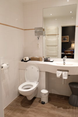 Hotel Montanus In Bruges, A Homely Feel Hotel With Warm And Friendly Hotel Crew - View of Bathroom