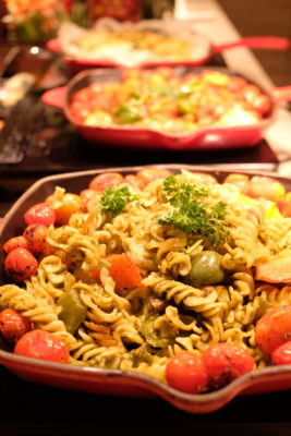 Ginger At PARKROYAL On Beach Road Dishing Pincer Feast - Pasta