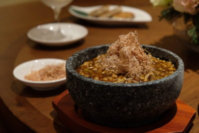 Tien Court Offering 53% Discount For Dim Sum At Copthorne Kings - Braised Rice with Diced Chicken with Bonito Flakes Served in Stone Pot 石锅木鱼花鸡丁烩饭 ($22)