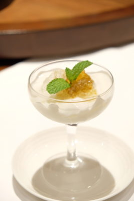 Tien Court Offering 53% Discount For Dim Sum At Copthorne Kings - Cream of Coconut with Peach Resin 椰皇雪燕桃树胶 ($9)