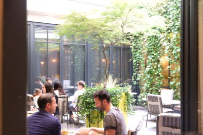 Le Baudelaire, A One Michelin Star French Restaurant Near The Louvre - Al Fresco dining