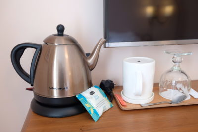 Hotel Bienvenue Paris In Opera Area With Subway Within Walking Distance - Kettle and a Tea Bag