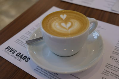 Five Oars Coffee Roasters, New Hipster Cafe Along Tanjong Pagar Road - White 5oz ($5)