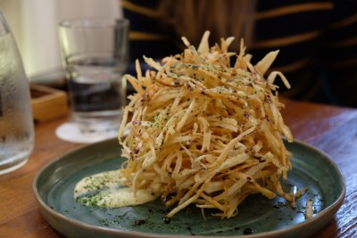 Jypsy By PS Cafe At Martin Road, Difficult To Get A Reservation - Nest of Fries ($11)