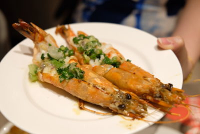Go Local Buffet At Four Points Eatery In Four Points By Sheraton Singapore Riverview - Grilled Prawn