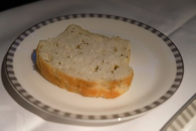 Business Class On SQ826, Flying Singapore Airlines To Shanghai - Foccacia