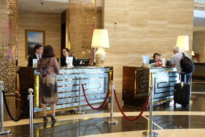 Crowne Plaza Shanghai Noah Square In Putuo - Check-in and out counter