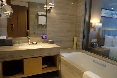 Crowne Plaza Shanghai Noah Square In Putuo - Bathroom overview