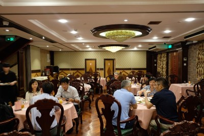Polo Restaurant 保罗酒楼 Shanghainese Restaurant At Xuhui - Second level dinning area