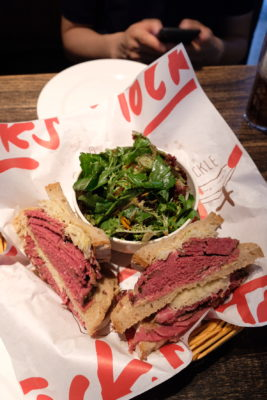 Tock's Shanghai, An Authentic Montreal Deli Experience Even Canadian Prime Minister Justin Trudeau Dine There - Tock's Signature Smoked Beef Sandwich (CNY 100)