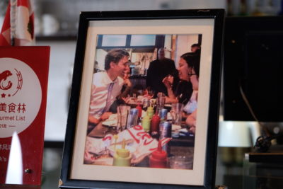 Tock's Shanghai, An Authentic Montreal Deli Experience Even Canadian Prime Minister Justin Trudeau Dine There - Photo of Canadian Prime Minister Justin Trudeau Dined There