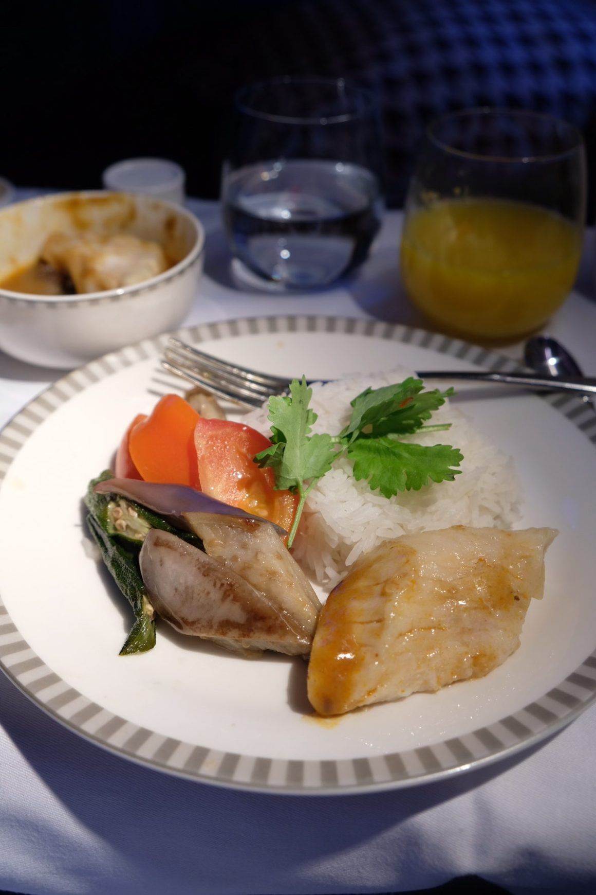 Singapore Airlines Business Class Book The Cook - Nonya Assam Fish