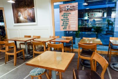 Blue Bell Breakfast with Tiong Bahru Bakery In Eng Hoon Street - Interior