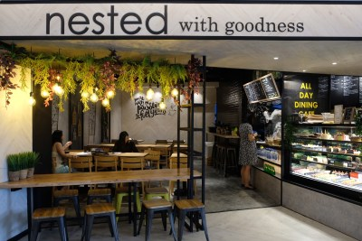 Nested Cafe Nested With Goodness At Fusionopolis - Facade