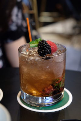 Ash & Char Rebranded To A Gastrobar With Revamped Interior - Mixed Berry Bramble