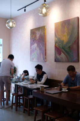 Amber Ember Cafe At Upper Serangoon Road - Another view, interior