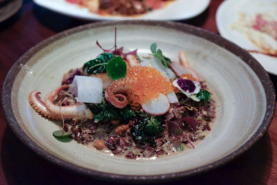Birds Of A Feather At Amoy Street, Modern Sze Chuan Food In Western-Style - Forbidden Risotto ($35)