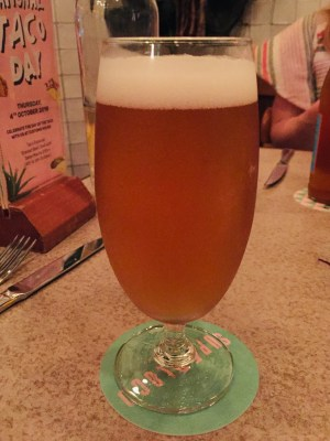 The Loco Group, A Mexican Food and Craft Beer Paradise - Pesado Pilsner ($13)