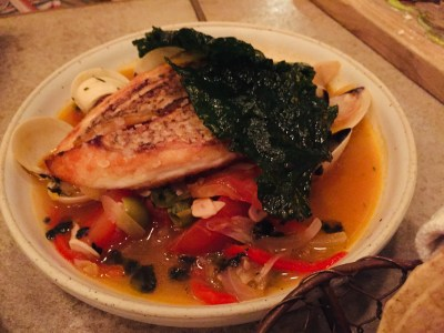 The Loco Group, A Mexican Food and Craft Beer Paradise - Wild Snapper Veracruzana ($28)