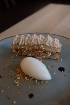 Clement Marot In Lille, Another Restaurant In The Michelin Guide - Poire & praline facon Armoricain