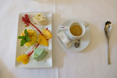 La Villa Casella, An Italian Restaurant Amid French In Strasbourg - Café Gourmand (€6.50)