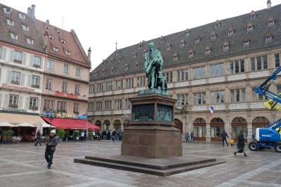 Strasbourg Travel, Must See & Do, Must Eat in 28 Hours - Statue Of Gutenberg