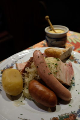 Strasbourg Travel, Must See & Do, Must Eat - Choucroute