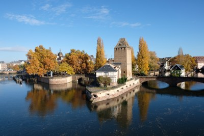 Strasbourg Travel, Must See & Do, Must Eat in 28 Hours - View from Barrage Vauban