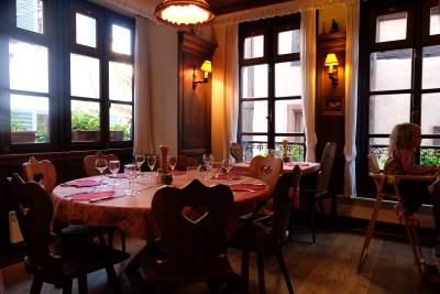 Chez Yvonne Strasbourg, A Long Established With Michelin Plate Award - Interior