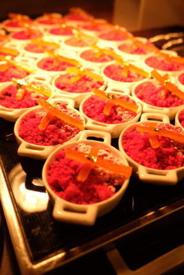 Celebrating 2018 Christmas With Singapore Marriott Tang Plaza Hotel - Raspberry Crumble with Rum-infused Fruits