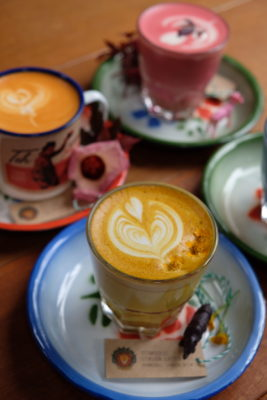 TBB Safari, Fifth Tiong Bahru Bakery Outlet - Tumeric and Ginger Latte ($6.50)