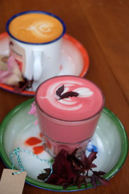 TBB Safari, Fifth Tiong Bahru Bakery Outlet - Beetroot and Ginger Latte ($6.50)